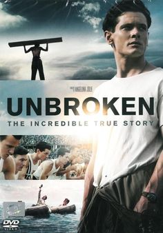 Unbroken  DVD  (2014) Angelina Jolie, Jack O'Connell,Coen Brothers, Biopic Drama