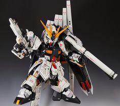 "Custom Build: MG 1/100 RX-93 nu Gundam ver. Ka ""SUPER DEFORMED VERSION"" - Gundam Kits Collection News and Reviews"