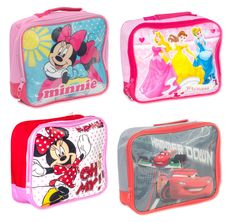 Official Disney Insulated School Lunch Bag Novelty Box Children Boys Girls Kids #Disney
