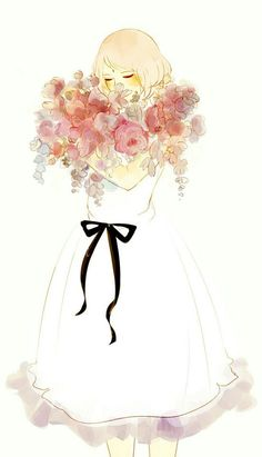 Imagem de sakura haruno, art, and flowers
