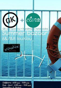 #Summer #bazaar #poster by elena baka