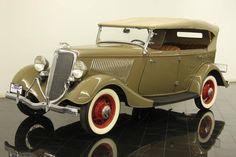 1934 Ford Model 40 Deluxe Phaeton
