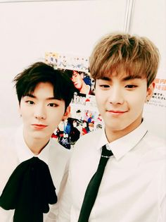 Shownu and Kihyun
