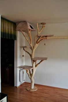 Rolnika BAGY CAT sro cattree catwoman bagy cat cattree catw – Pets and Supplies Cat Tree House, Diy Cat Tree, Wooden Cat Tree, Cat Towers, Cat Shelves, Cat Playground, Cat Enclosure, Cat Room, Cat Condo
