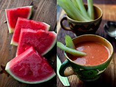"NYT Cooking: Tomato and watermelon are an unexpected match, their respective acidity and sweetness mingling to great effect. This soup, adapted from Anya von Bremzen's book ""The New Spanish Table,"" integrates the melon into a bare-bones gazpacho, one of the sovereigns of the high summer table. There are so few ingredients here that the ones you use will really stand out, so try to ge..."