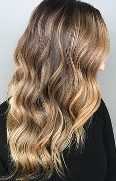 caramel gold highlights