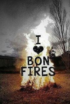 I ♥Bonfires! #Countrylife