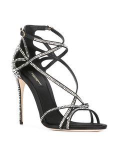 Dolce & Gabbana Rhinestone Sandals - Farfetch