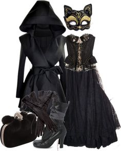 """""""Witchy Woman"""" by crinolinedream ❤ liked on Polyvore. This is wicked."""