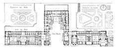 Floor plan of the Château de Versailles