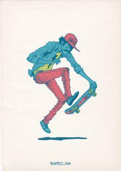 Gerhard Human - Skateboarding is a Crime