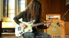 Sef, the mysterious guitarist for the Canadian rock band Your Favorite Enemies, discusses and demos his Orange guitar head. Check out Your Favorite Enem. Enemies, Your Favorite, Guitar, Orange, Audio, Amazon, Amazons, Riding Habit, Guitars