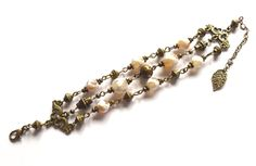 Bracelet with agate. Armband med agater från ladyofthelake.se