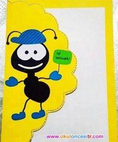 Preschool Report Card Crafts Idea - Preschool and Kindergarten Kindergarten Report Cards, Kindergarten Graduation, Diy And Crafts, Crafts For Kids, Arts And Crafts, Paper Crafts, School Report Card, Teaching Posters, Birthday Charts
