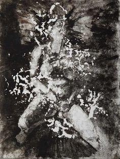 Kjell Weewer - Fantasme 1 - ets - etching