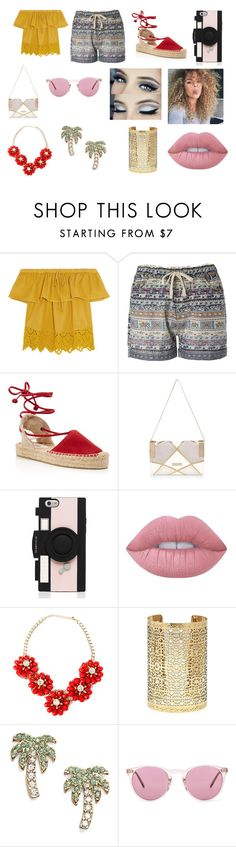 """""""#52"""" by jasmine-c05 ❤ liked on Polyvore featuring Madewell, Soludos, River Island, Kate Spade, Lime Crime, Forever 21 and Oliver Peoples"""