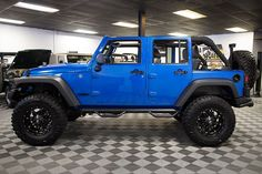 2016 Jeep Wrangler Sport Unlimited Hydro Blue