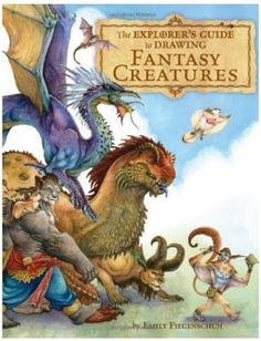 Drawing monsters is fun and can be educational as well as encouraging a child to stay focused on a task simply because they love it. Check out how to draw Fantasy Creatures!