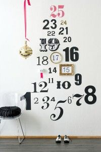 Countdown Christmas tree