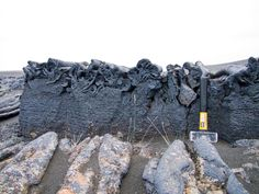 Twitter / subglacial: Ah, pahoehoe...quite sublime. ... Pahoehoe cross-section