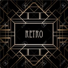 24589213-Vintage-background-Retro-style-frame--Stock-Vector.jpg (1299×1300)