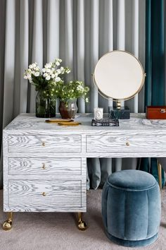 From introducing smoky blue walls to picking up British-made ceramics at local craft fairs, interior designer Sophie Ashby shares her top interiors tips for introducing eclecticism into your home. Dressing Room Design, Dressing Rooms, Dressing Tables, Wardrobe Room, Wardrobe Solutions, Interior Decorating, Interior Design, Bespoke Furniture, Nice Furniture