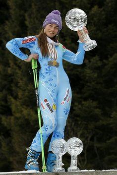 Tina Maze, World Cup Skiing, Leather Trousers Outfit, Ski Girl, Ski Racing, Ski Posters, Ski And Snowboard, Snowboarding, Sports Women