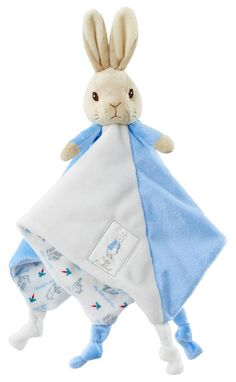 Newborn Baby Bundle Peter Rabbit Plush and Baby Moment Cards Blue Baby Boy Gift