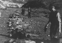 WWII. - 1945. - Croatia / NDH - Killed by Ustashas, before their retreat from Sarajevo