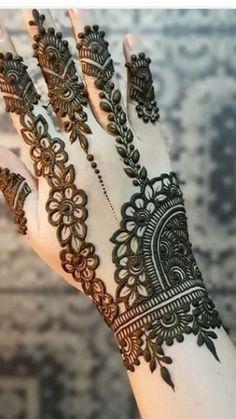 Henna Hand Designs, Dulhan Mehndi Designs, Mehandi Designs, Mehndi Designs Finger, Indian Henna Designs, Latest Bridal Mehndi Designs, Modern Mehndi Designs, Mehndi Designs For Girls, Mehndi Designs For Beginners