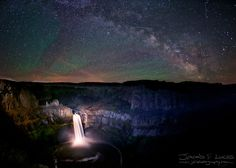 (1024×730)  An Astral Concerto - Night sky over Palouse Falls.