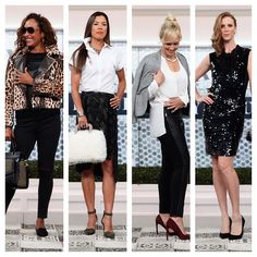 Simple outfits to glam up your everyday wardrobe! Which look is your favourite?