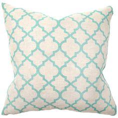 Illusion Tile Print Pillows (Pair) @LaylaGrayce $118