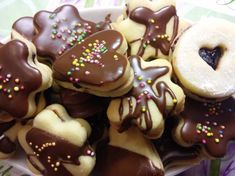 Christmas Cookies, Doughnut, Food And Drink, Pudding, Baking, Recipes, Homeland, Drinks, Fit