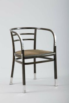 Otto Wagner, Armchair from the Conference room of the Austrian Postal Savings Bank, Vienna 1906
