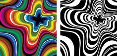 Misma forma ... como cambia la vida a color