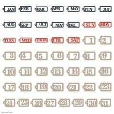 Cricut Days and Dates Garden Of Words, Cricut Cartridges, Cricut Fonts, Basic Shapes, Clean Design, Dating, Quotes