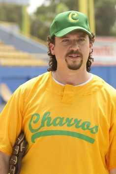 Kenny Powers From Eastbound & Down      What to wear: A mullet and bad goatee are absolute musts. As for clothing, make your own Charros jersey (or just put on a regular baseball tee) and carry around a baseball glove.     How to act: Feel free to drop in a few F-bombs to really sell it.