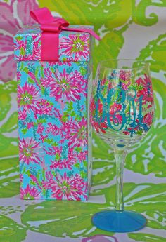 Trippin' and Sippin' Print Personalized Lilly by KeyLimeOnline