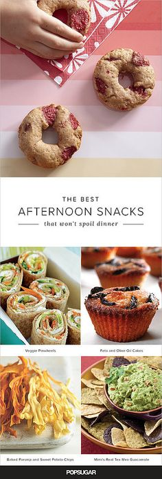 20 Mouthwatering (and Healthy!) After-School Snacks That Won't Spoil Dinner