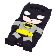 Amazon.com: DD(TM) 3D Cute Lovely Stylish Black Batman Pattern Soft Silicone Back Case Cover Protective Skin for Samsung Galaxy S3 i9300 SIII: Cell Phones & Accessories