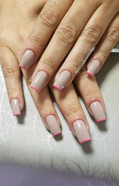 Want some ideas for wedding nail polish designs? This article is a collection of our favorite nail polish designs for your special day. French Nails, Nail Polish Designs, Nail Designs, Gel Polish, Pink Nails, My Nails, Wedding Nail Polish, American Nails, Gel Nagel Design