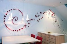 Amazing Arrays Of Butterflies Ideas For Accessories Walls, Luxury House Design, House Design, Interior House design and decoration interior design de casas design Beautiful Interior Design, Modern Interior Design, Interior Architecture, Living Room Crafts, Living Room Designs, Butterfly Wall Decor, Butterfly Art, Butterfly Design, Beautiful Butterflies