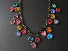 Crochet Necklace Idea