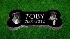 Personalized Pet Stone Memorial Marker Granite Marker Dog Bone X X Personalised Great Dane Rottweiler Dachshund > pet stone personalized personalised grave marker Pet Dogs, Dogs And Puppies, Pets, Pet Grave Markers, Memorial Markers, Dog Memorial, Memorial Ideas, Memorial Stones, Dog Bones