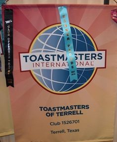 Toastmasters of Terrell- club 1526701 located in Terrell, Texas U.S.A. Thank you to Manhal Shukayr for the banner picture.