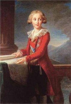 Francis I Bourbon  - Louise Elisabeth Vigee Le Brun