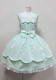 Going Out JSK (Angelic Pretty) casual sweet Lolita dress Source by out Dresses Harajuku Fashion, Kawaii Fashion, Lolita Fashion, Cute Fashion, Asian Fashion, Gothic Fashion, Fashion Outfits, Moda Lolita, Lolita Mode
