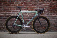 [Image: Bianchi Pista 👍👌🔥na Flat Bar Road Bike, Road Bike Shoes, Bmx, Trek Road Bikes, Road Cycling, Single Speed Road Bike, Titanium Road Bike, Road Bike Accessories, Classic Road Bike