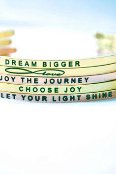 Love these Mantraband Bracelets!